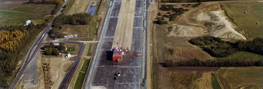 CN Mc Bain Intermodal Yard
